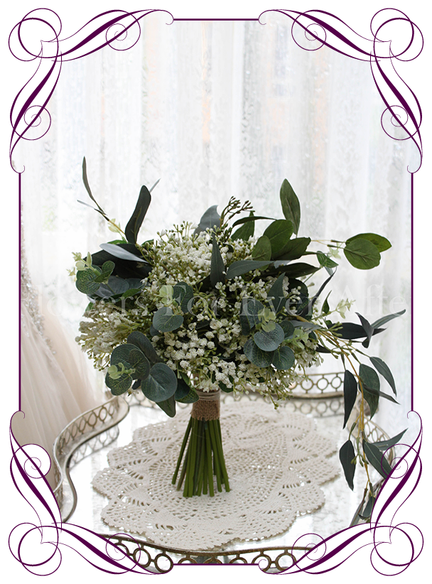 Kristy Bouquet Package Artificial Bridal Bouquets Silk Wedding Flower Packages Flowers For Ever After