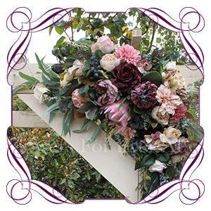 Arbor, Arch & Tieback Floral Decorations