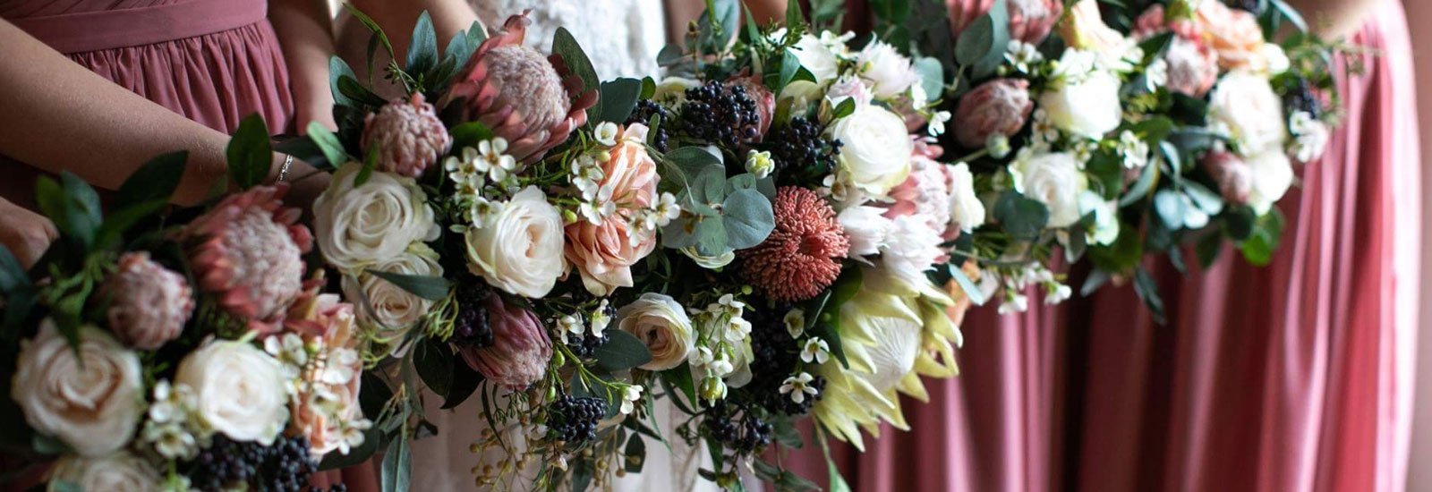 Silk Native Bridal Bouquets Flowers For Ever After Melbourne