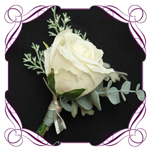 Silk Floral Boutonnieres & Corsages