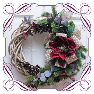 Wreaths & Floral Christmas Decor