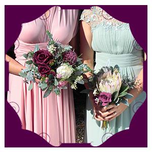 Artificial Bridesmaid Bouquets