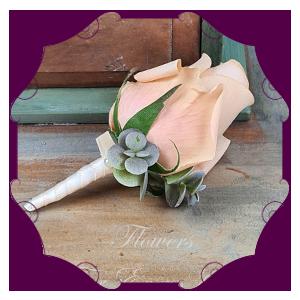 Silk Floral Boutonnieres & Corsages