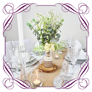 Table Centrepieces & Garlands