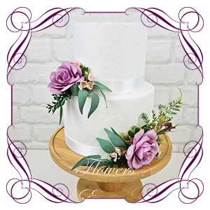 Cake Toppers and Floral Decorations