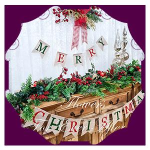 Wreaths & Floral Christmas Decor